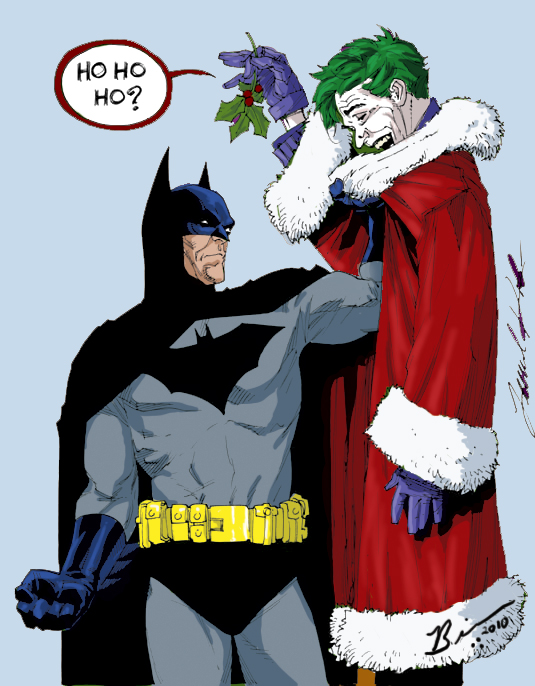 MERRY CHRISTMAS FROM THE JOKER'S LAIR!!! | My Site