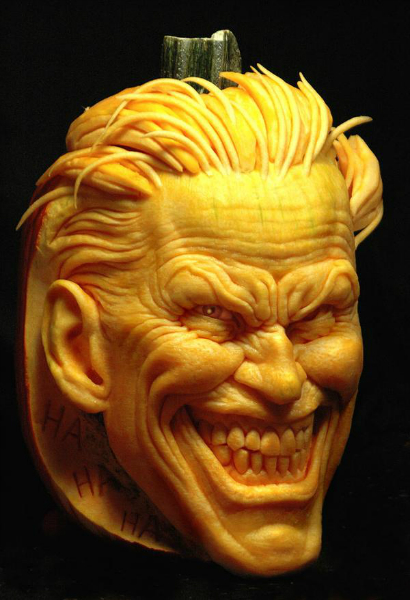 I call this extreme pumpkin carving… amazing my site